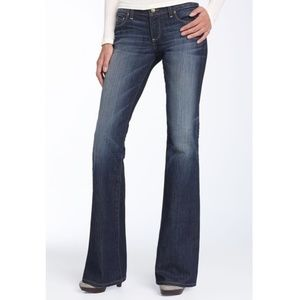 Paige Laurel Canyon Faded Front Bootcut Jean